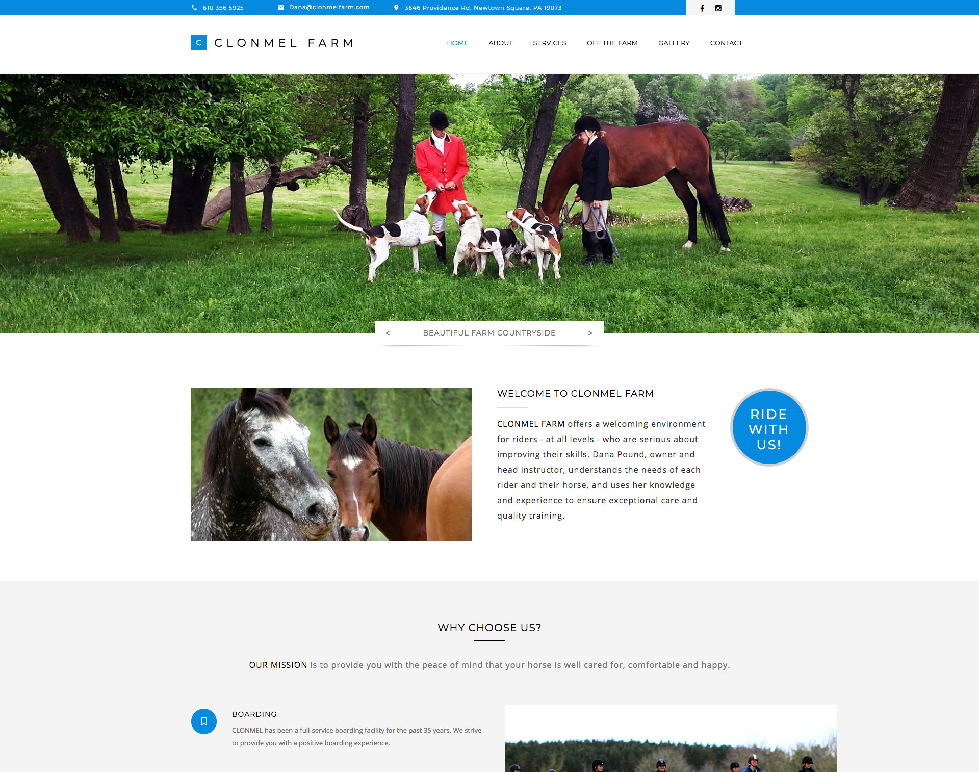 Clonmel Farm Website Design Website Maintenance